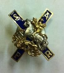 Знак Лейб - Гвардии Московский полк