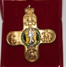 Знак Фанагорийский пехотный полк