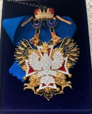 Крест ордена Белого орла.
