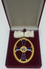 Крест орден Святой Ольги 1 степени. (с хрусталем)