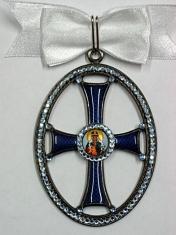 Крест орден Святой Ольги 2 степени. (с хрусталём)
