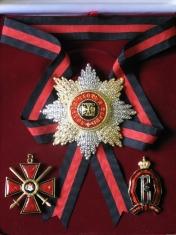 Набор орд.Св.Владимира (Владимирский) с хрусталем swarovski