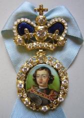 Наградной портрет Императора Петра I Алексеевича
