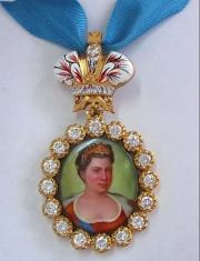 Наградной портрет Императора Екатерины I Алексеевны