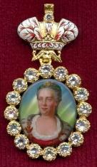 Наградной портрет Императора Екатерины II Алексеевны