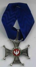 Крест ордена ВирТути Милитари 4 ст.