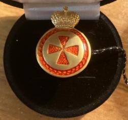 Крест ордена Святой Анны 4 ст. (медальон)