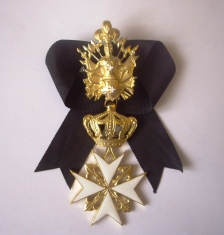 Крест ордена Святого Иоанна Иерусалимского мальтийский, кавалерский