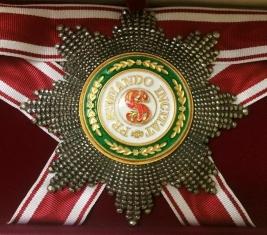 Звезда ордена Святого Станислава бриллиантовой огранки (гранёная)