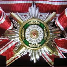 Звезда ордена Святого Станислава лучевая (с мечами)