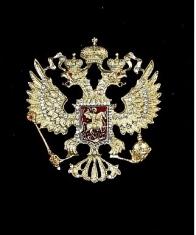 Герб России (с хрусталём Swarovski)