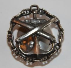 Знак Артиллерийский офицерский класс морского ведомства