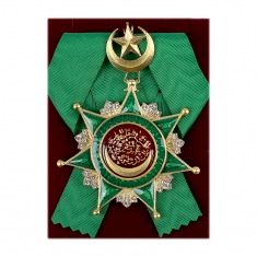 Знак Ордена Османие (Турция)