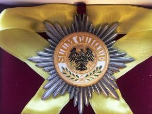 Звезда Ордена Чёрного Орла (Пруссия) (Лучевая)