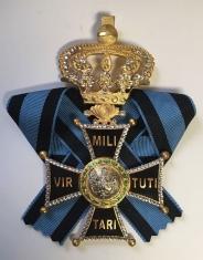 Крест ордена ВирТути Милитари 1 ст. (с хрусталём Swarovski)