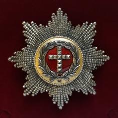 Звезда ордена слона (Дания) (гранёная)