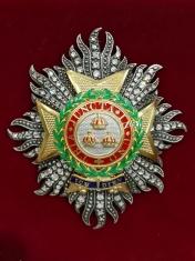 Звезда рыцаря большого креста ордена Британской империи (За военные заслуги) (с хрусталём Swarovski)