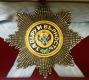 Звезда ордена Святого Андрея Первозванного бриллиантовой огранки (гранёная)
