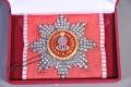 Звезда ордена Святой Екатерины (с хрусталем swarovski)