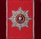 Звезда ордена Святой Екатерины (с хрусталем и жемчугом swarovski)
