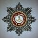 Звезда ордена Святого Александра Невского (с хрусталём и жемчугом swarovski)