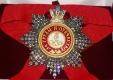 Звезда ордена Святого Александра Невского (с короной, с хрусталем swarovski)