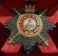 Звезда ордена Святого Александра Невского бриллиантовой огранки (с мечами, с короной)
