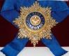 Звезда ордена Белого орла (с хрусталем swarovski)