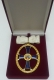 Крест орден Святой Ольги 1 степени. (с хрусталем swarovski)