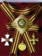 Набор орд.Св.Георгия (Георгиевский) с хрусталем swarovski