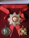 Набор орд.Св.Александра Невского (Александровский) с хрусталем swarovski