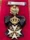 Крест ордена Святого Иоанна Иерусалимского мальтийский, командорский (с хрусталем)