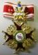 Крест ордена Святого Станислава 1 ст. (с короной)