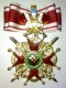 Крест ордена Святого Станислава 1 ст. для иноверцев (с мечами,с короной)