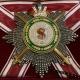 Звезда ордена Святого Станислава бриллиантовой огранки (с мечами, с короной)