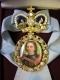 Наградной портрет Императора Петра I
