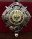 Звезда ордена Святого Андрея Первозванного бриллиантовой огранки (лучевая), объединённая с орденом Подвязки